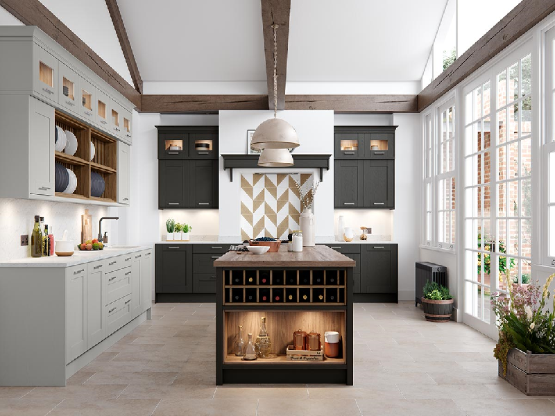 6 Amazing Ways To Create A Lovely Modern Shaker Style Kitchen Design By Masterclass Interiors Masterclass Interiors